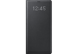 SAMSUNG LED View Cover EF-NN950 Galaxy Note8 Handyhülle, Schwarz