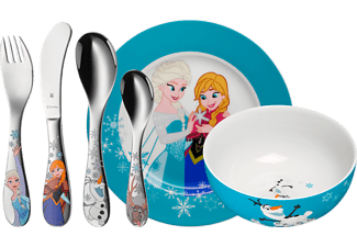 WMF 12.8600.9009 Frozen 6-tlg., Kinderbesteck-Set