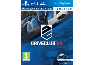SONY DriveClub VR PS4 EXP