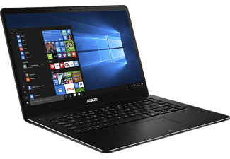 ASUS ZENBOOK PRO I7-7700HQ/16GB/512GB SSD BLACK, Notebook mit 15.6 Zoll Display, Core™ i7 Prozessor, 16 GB RAM, 512 GB SSD, GeForce® GTX1050, Matte Black