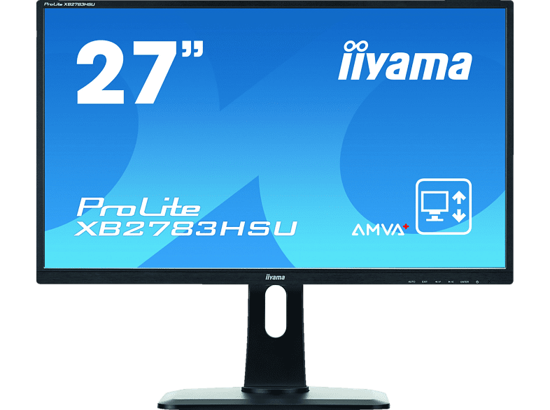 IIAMA PROLITE XB2783HSU-B1DP 27 Zoll Full-HD Monitor (4 ms Reaktionszeit) | 04948570113897