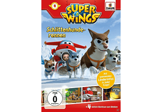 Super Wings 4 - Schlittenhunderennen - (DVD)