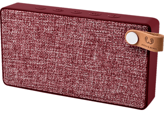 FRESH N REBEL Rockbox Slice Fabriq Edition, Bluetooth Lautsprecher, Ausgangsleistung 2x 3 Watt, Rot