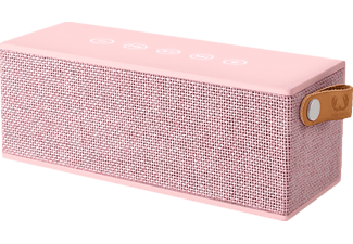 FRESH N REBEL Rockbox Brick Fabriq Edition, Bluetooth Lautsprecher, Ausgangsleistung 2x 6 Watt, Rosé