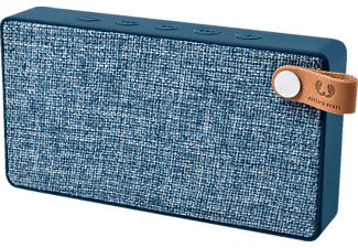 FRESH N REBEL Rockbox Slice Fabriq Edition, Bluetooth Lautsprecher, Ausgangsleistung 2x 3 Watt, Blau