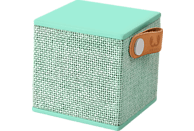 FRESH N REBEL Rockbox Cube Fabriq Edition Bluetooth Lautsprecher, Mintgrün