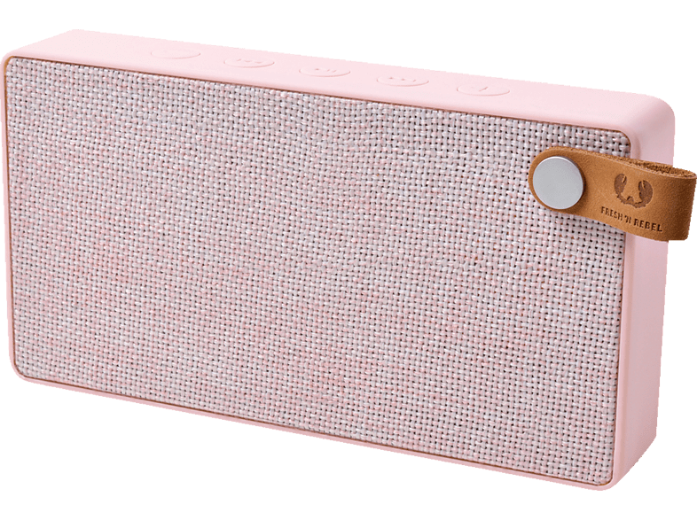 FRESH N REBEL Rockbox Slice Fabriq Edition Bluetooth Lautsprecher, Rosé