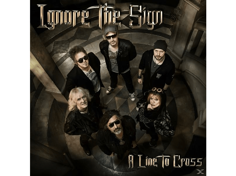 Ignore The Sign - A Line To Cross [CD]