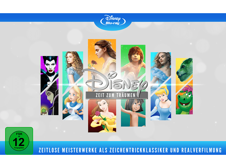 Disneys zeitlose Meisterwerke (Animation & Live Action) - Limited Edition [Blu-ray]