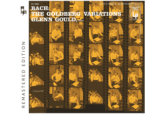 Glenn Gould - Goldberg Variations BWV 988-Remastered Edit.(1955) - (CD)