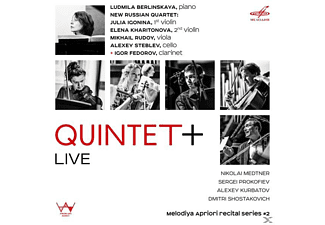 New Russian Quartet/Berlinskaya/Fedorov - Quintet+Live - (CD)
