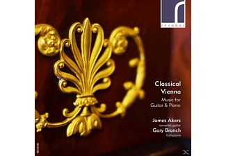 James Akers, Gary Branch - Classical Vienna - (CD)
