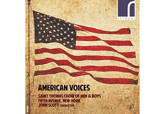John Scott, Saint Thomas Choir - American Voices - (CD)