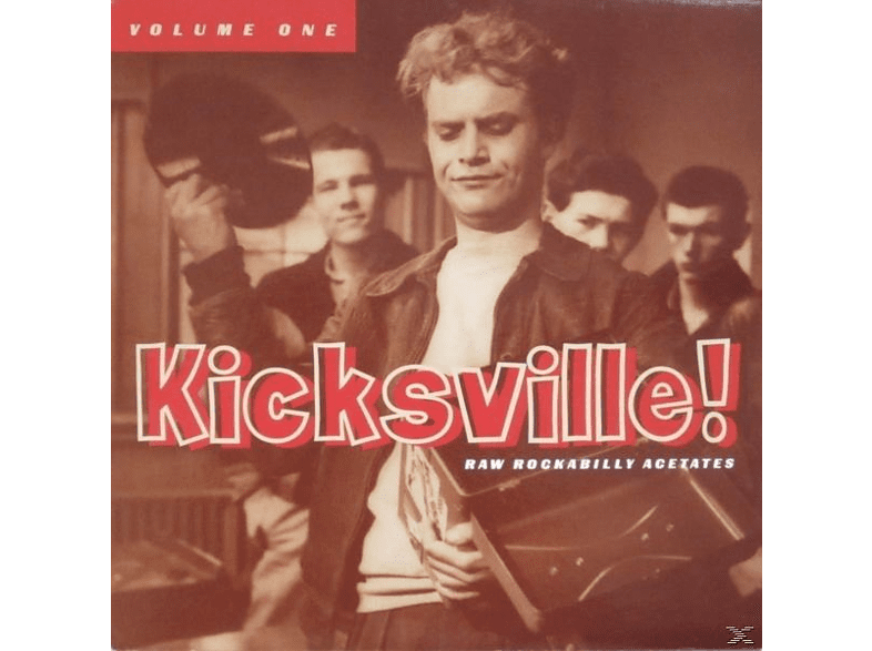 VARIOUS - Kicksville! Raw Rockabilly Acetates Vol.1 [Vinyl]