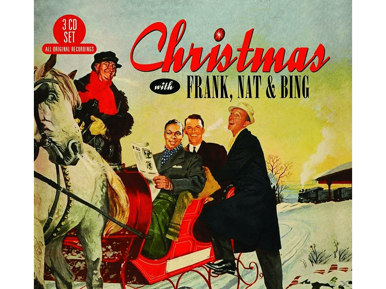 VARIOUS - Christmas With Frank,Nat & Bing [CD]