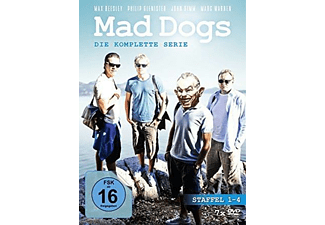 MAD DOGS 1-4.STAFFEL SERIE KOMPLETT - (DVD)