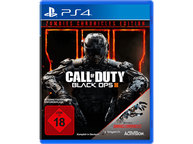 Call of Duty: Black Ops III Zombies Chronicles [PlayStation 4]