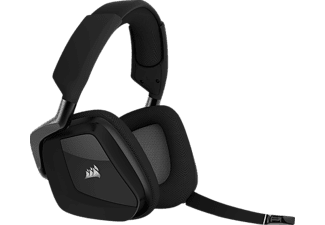 CORSAIR Kabelloses Gaming Headset VOID PRO RGB mit Dolby® Headphone 7.1, carbon (CA-9011152-EU)