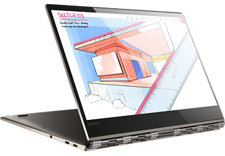 LENOVO Yoga 920, Convertible mit 13.9 Zoll Display, Core™ i7 Prozessor, 16 GB RAM, 1 TB SSD, UHD Grafik 620, Bronze