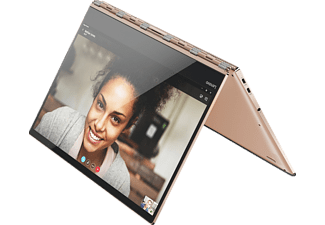 LENOVO Yoga 920, Convertible mit 13.9 Zoll Display, Core™ i5 Prozessor, 8 GB RAM, 256 GB SSD, UHD Grafik 620, Copper