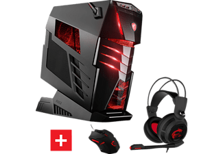 MSI Aegis Ti3 VR7RF SLI, Gaming PC mit Core™ i7 Prozessor, 64 GB RAM, 512 GB SSD, 512 GB SSD, GeForce GTX 1080 Ti Gaming 11G GDDR5X Grafikspeicher