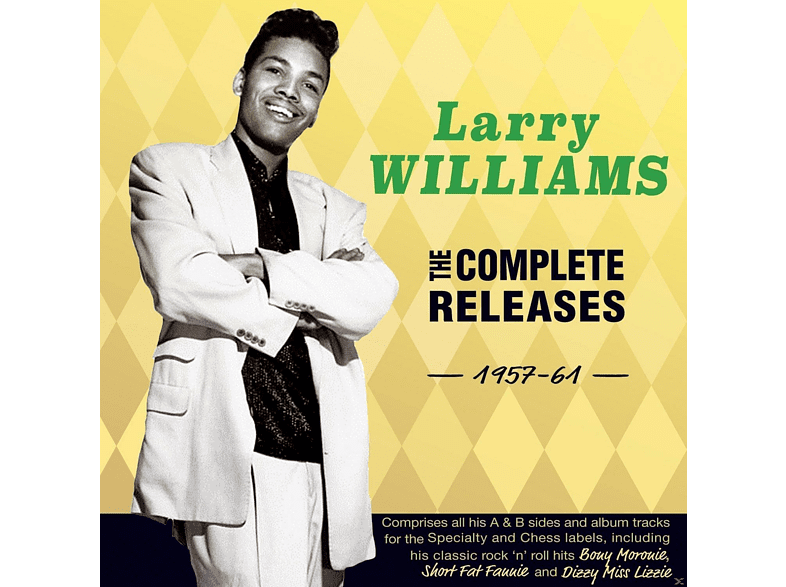 Larry Williams - The Complete Releases 1957-61 [CD]