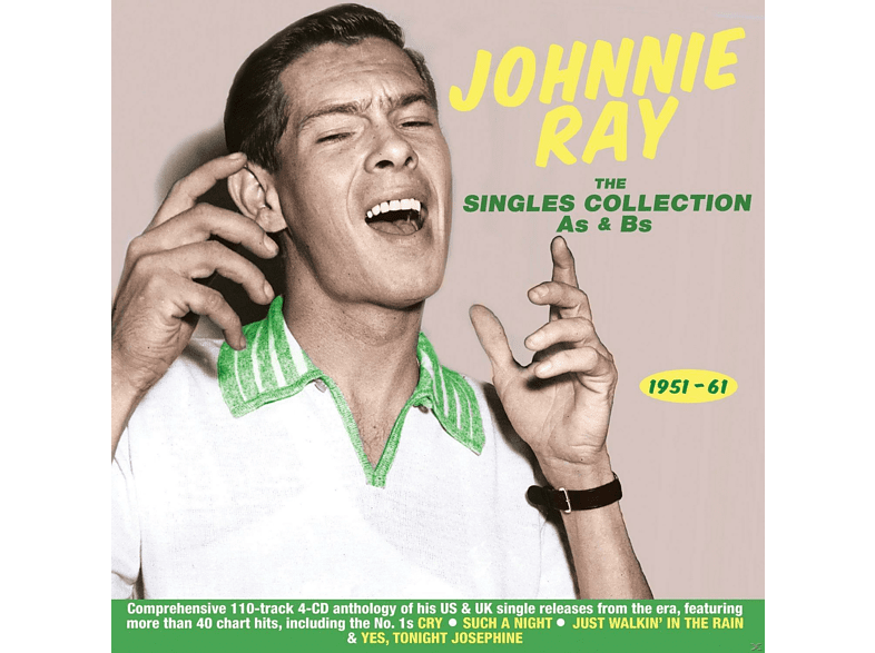 Johnnie Ray - The Singles Collection As & Bs 1951-61 [CD]