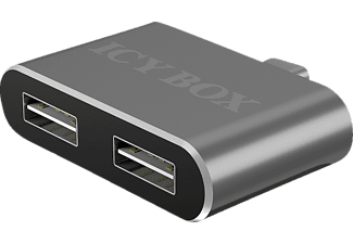 ICY BOX 2-Port, USB Hub