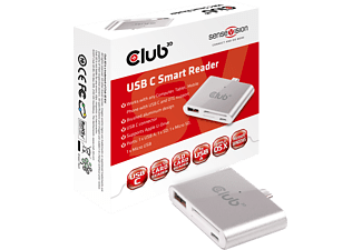 CLUB-3D Kartenleser SenseVision USB C Smart Reader (CSV-1590)