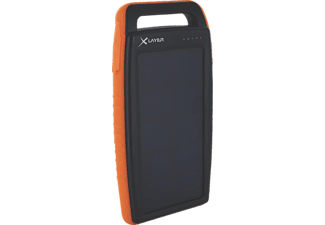XLAYER 212848, Powerbank, 15000 mAh, Orange/Schwarz