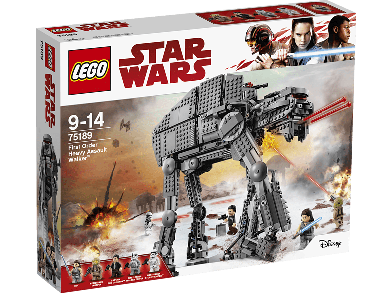 LEGO  First Order Heavy Assault Walker™ (75189) Bausatz, Mehrfarbig | 05702015869904