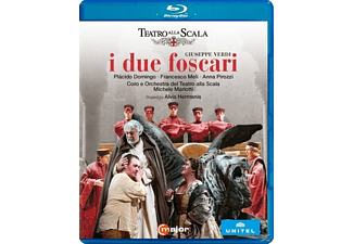 Domingo/Meli/Pirozzi - I Due Foscari - (Blu-ray)