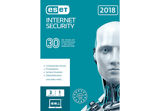 ESET Internet Security 2018 Edition 3 User (FFP)