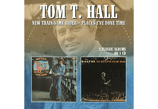 Tom T. Hall - New Train-Same Rider/Places I've Done Time - (CD)