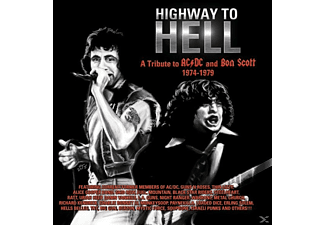 VARIOUS - Highway To Hell: A Tribute To Bon Scott & AC/DC 19 - (CD)
