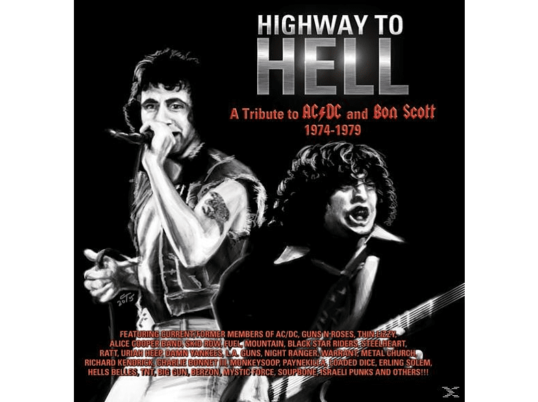 VARIOUS - Highway To Hell: A Tribute To Bon Scott & AC/DC 19 [CD]