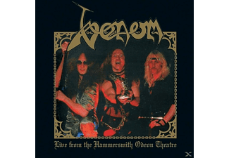 Venom - Live From The Hammersmith Odeon Theatre (Gold LP) - (Vinyl)