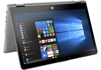 "HP Pavilion x360 ezüst 2in1 eszköz 2GS65EA (14.0"" Full HD touch/Core i3/4GB/128GB SSD/Windows 10)"