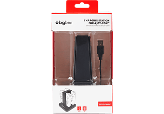 BIGBEN Quad Charging Station, Ladestation, Schwarz