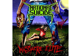 National Suicide - Massacre Elite - (Vinyl)