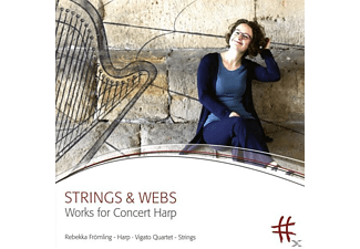 Rebekka/vigato Quartet Frömling - Strings & Webs - (CD)