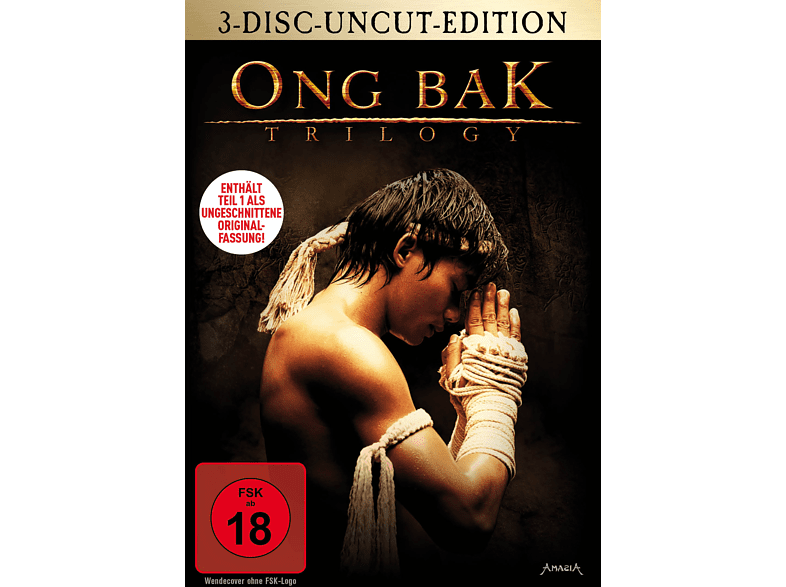 Ong Bak Trilogy - 3-Disc-Uncut-Edition [DVD]