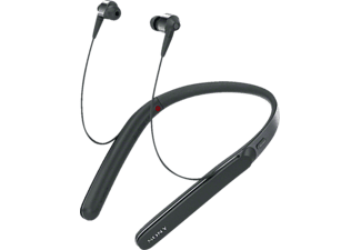 SONY WI 1000 X, In-ear Kopfhörer, Near Field Communication, Headsetfunktion, Bluetooth, Schwarz