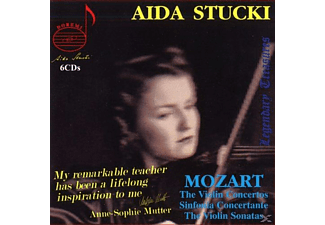 Aida Stucki - Stucki Plays Mozart - (CD)