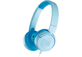 JBL JR300, On-ear Kopfhörer, Blau