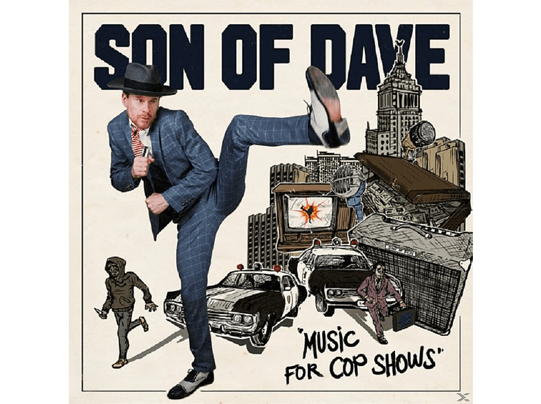 Son Of Dave - Music For Cop Shows [LP + Download]