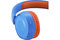JBL JR300BT, On-ear Kopfhörer, Blau/Orange