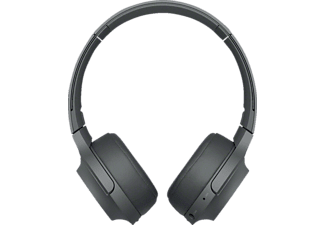 SONY WH-H 800, Over-ear Kopfhörer, Near Field Communication, Headsetfunktion, Bluetooth, Schwarz