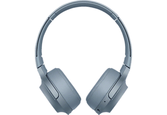 SONY WH-H 800, Over-ear Kopfhörer, Near Field Communication, Headsetfunktion, Bluetooth, Blau