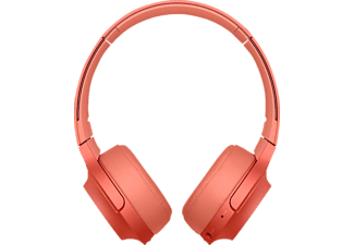 SONY WH-H 800, Over-ear Kopfhörer, Near Field Communication, Headsetfunktion, Bluetooth, Rot